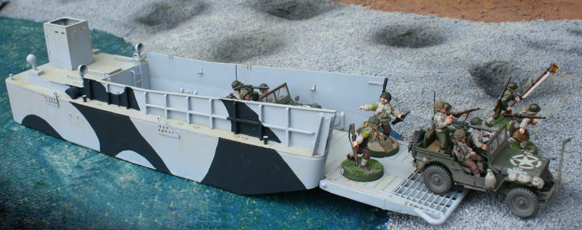 British WWII landing craft