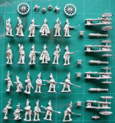 Offensive Miniatures French Napoleonic artillery pack