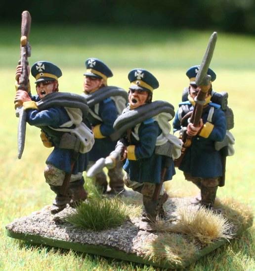 4-15te Schlesische Landwehr 1st stand