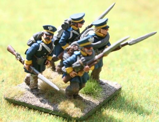 4-15te Schlesische Landwehr 2nd stand
