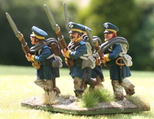 4-15te Schlesische Landwehr 3rd stand