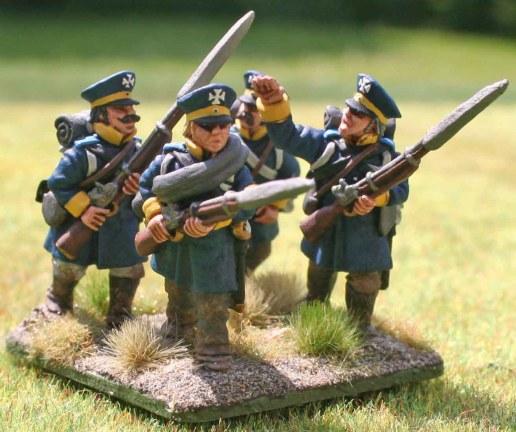 4-15te Schlesische Landwehr 4th stand