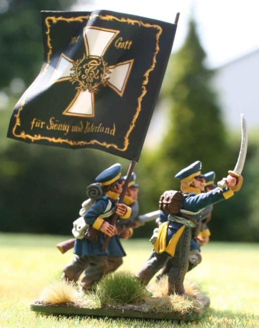 4-15te Schlesische Landwehr command stand [side view]