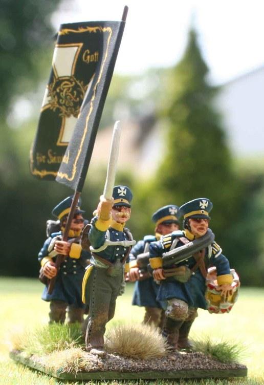 4-15te Schlesische Landwehr command stand