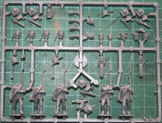 Infantry sprue