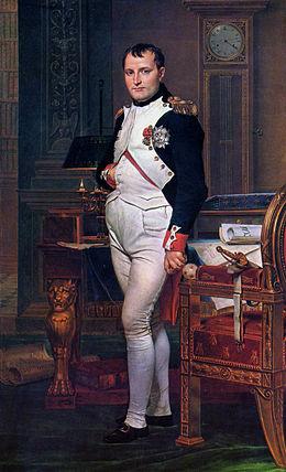 Emperor Napleon in 1812