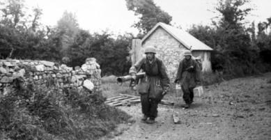 Fällschirmjäger in Normandy