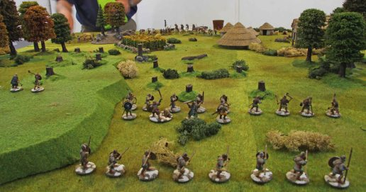 Viking deployment at the begining of the second game
