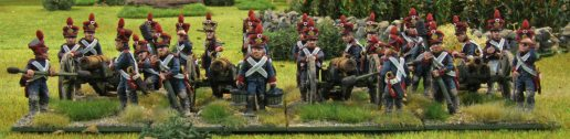 French artillery battery (Offensive Miniatures)