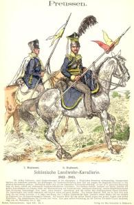 Schlesische Landwehr Kavallerie, Knoetel Band XIV, Bild 3