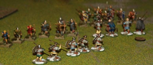 Viking Bondi and Jomsvikings going for the Normans