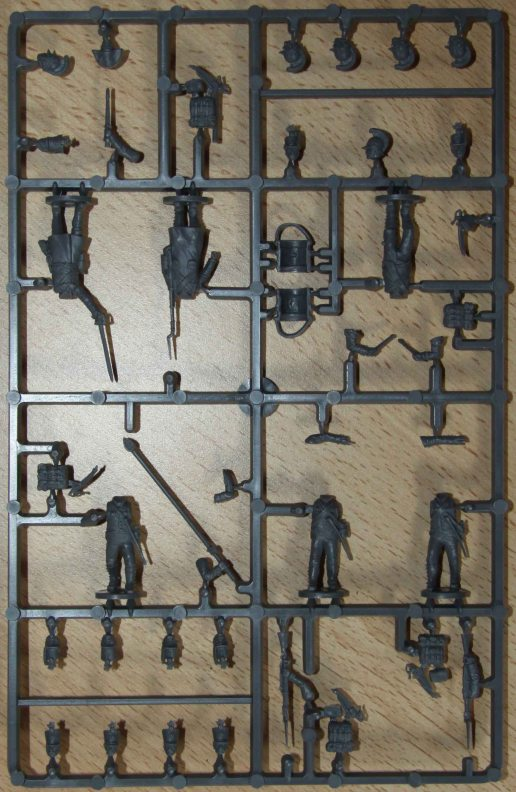 Perry Plastic Austrian Command sprue