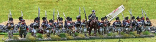 12te Reserveinfanterie (in line without skirmishers)