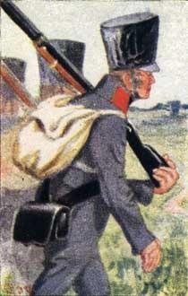 12tes Preussisches Reserveinfanterie Regiment, Knötel Cigarette Card