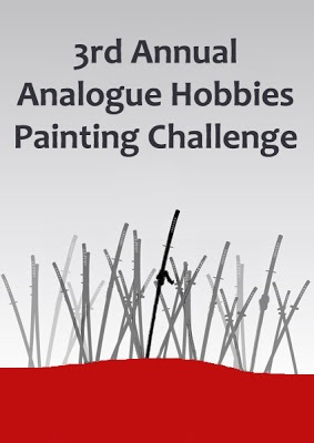 3rd Annual Analogue Hobbies Painting Challenge