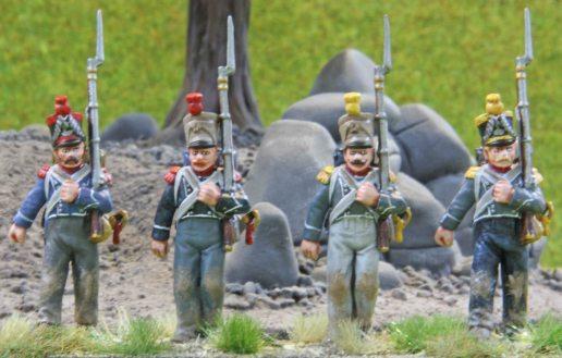 37eme - 1 Légère (Carabiniers & Voltigeurs)
