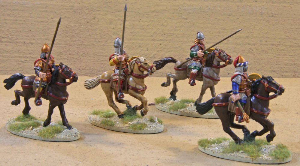 SAGA Byzantine Warband... finally finished (4/6)