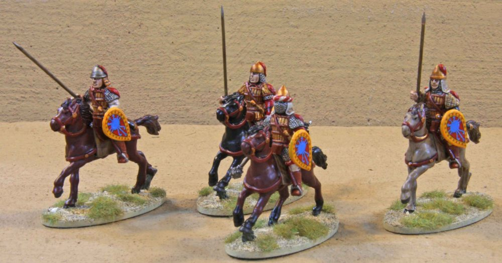SAGA Byzantine Warband... finally finished (5/6)