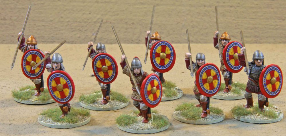 SAGA Byzantine Warband... finally finished (1/6)