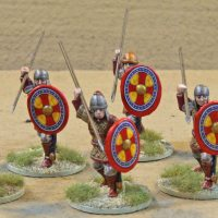 SAGA Byzantine Warband... finally finished