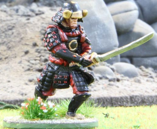 Samurai or rather the black Ronin