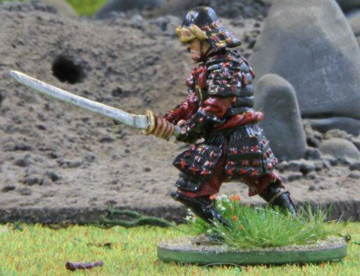 Samurai or rather the black Ronin
