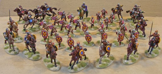 Seven point Byzantine SAGA Warband