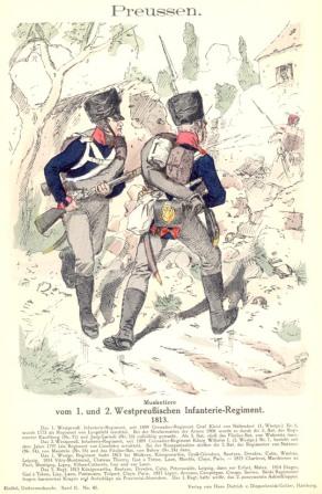 1tes und 2tes Westpreussisches Infanterieregiment
