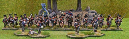 Westpreussisches Grenadierbattalion (skirmishers deployed)