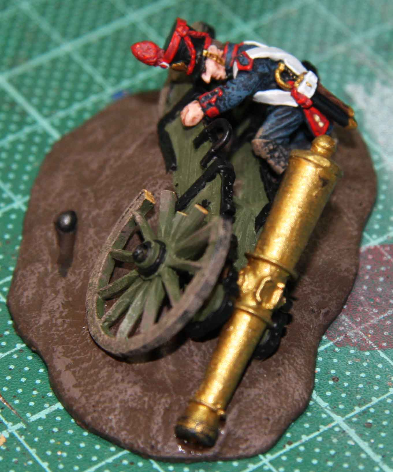 Offensive Miniatures French artillery casualty