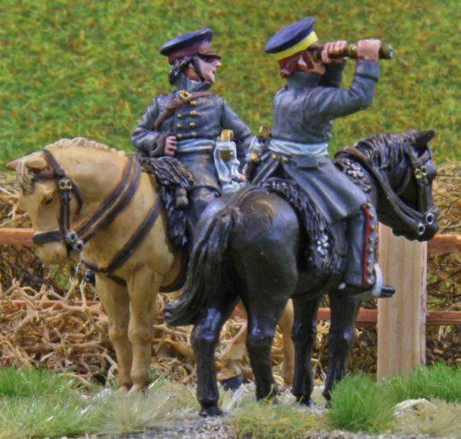 Prussian artillery officers