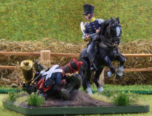 Prussian mounted infantry officer