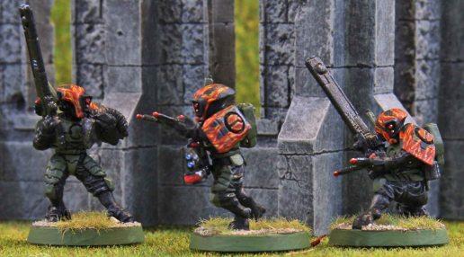 Tau Firewarrior Shas'ui (Sergeants)