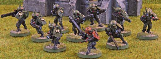 Tau Firewarrior Team 3