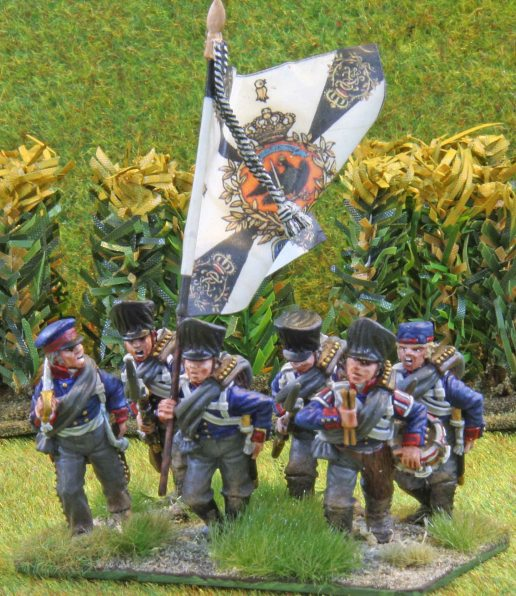 Brandenburg Infanterie Regiment (Command base)