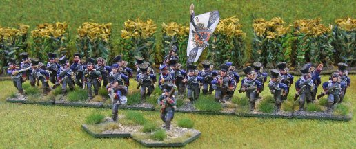 Brandenburg Infanterie Regiment (skirmishers deployed)