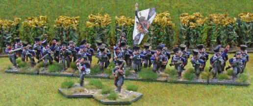 Brandenburg Infanterie Regiment (skirmishers deployed)