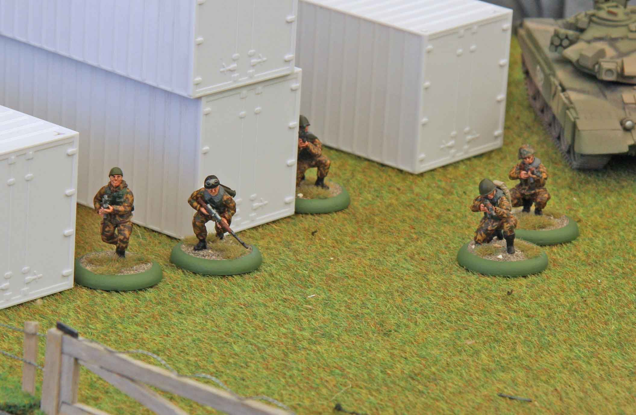 Russians taking up defensive positions
