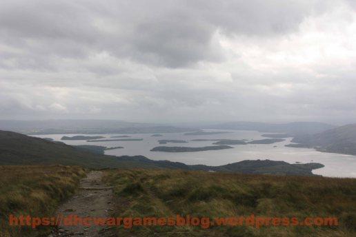 Bonnie, bonnie banks of Loch Lomond