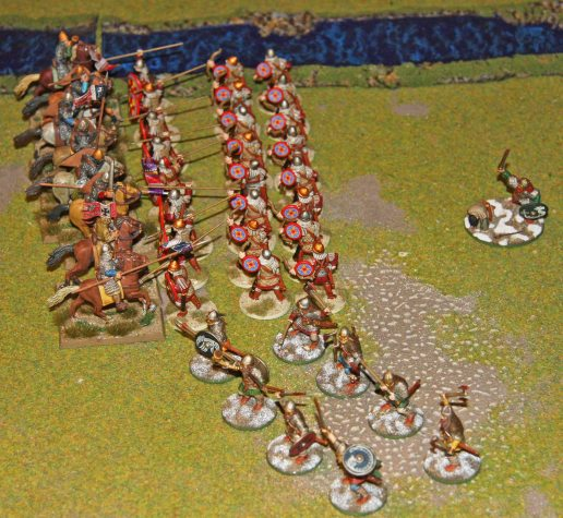 First Norman charge