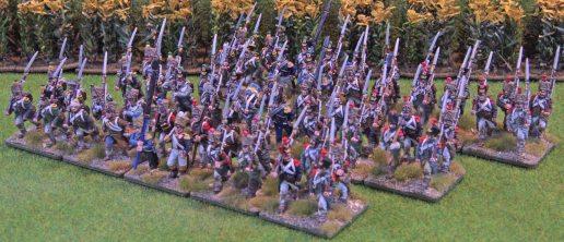 Generic French regiment [three battalion shot]