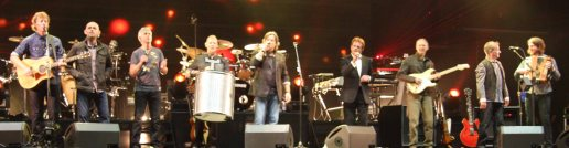 Runrig final encore (old and new band members) at Party on the Moor (Runrig 40th Anniversary Concert)