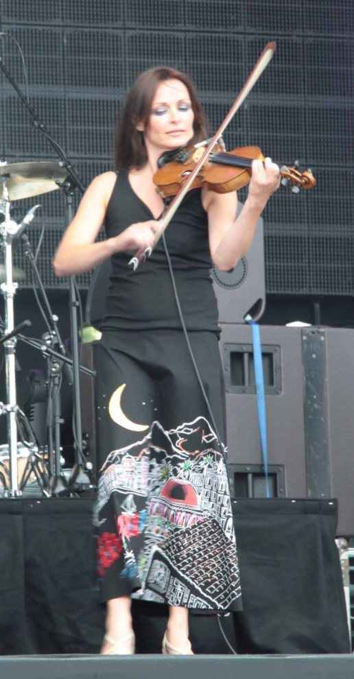 Sharon Corr at Party on the Moor (Runrig 40th Anniversary Concert)