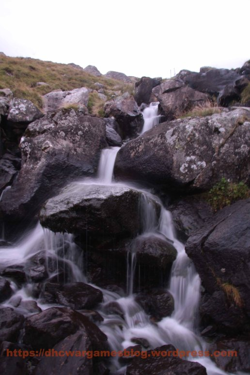 Small waterfall in Snowdonia