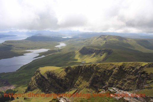 View of Skye from the Old Man of Storr