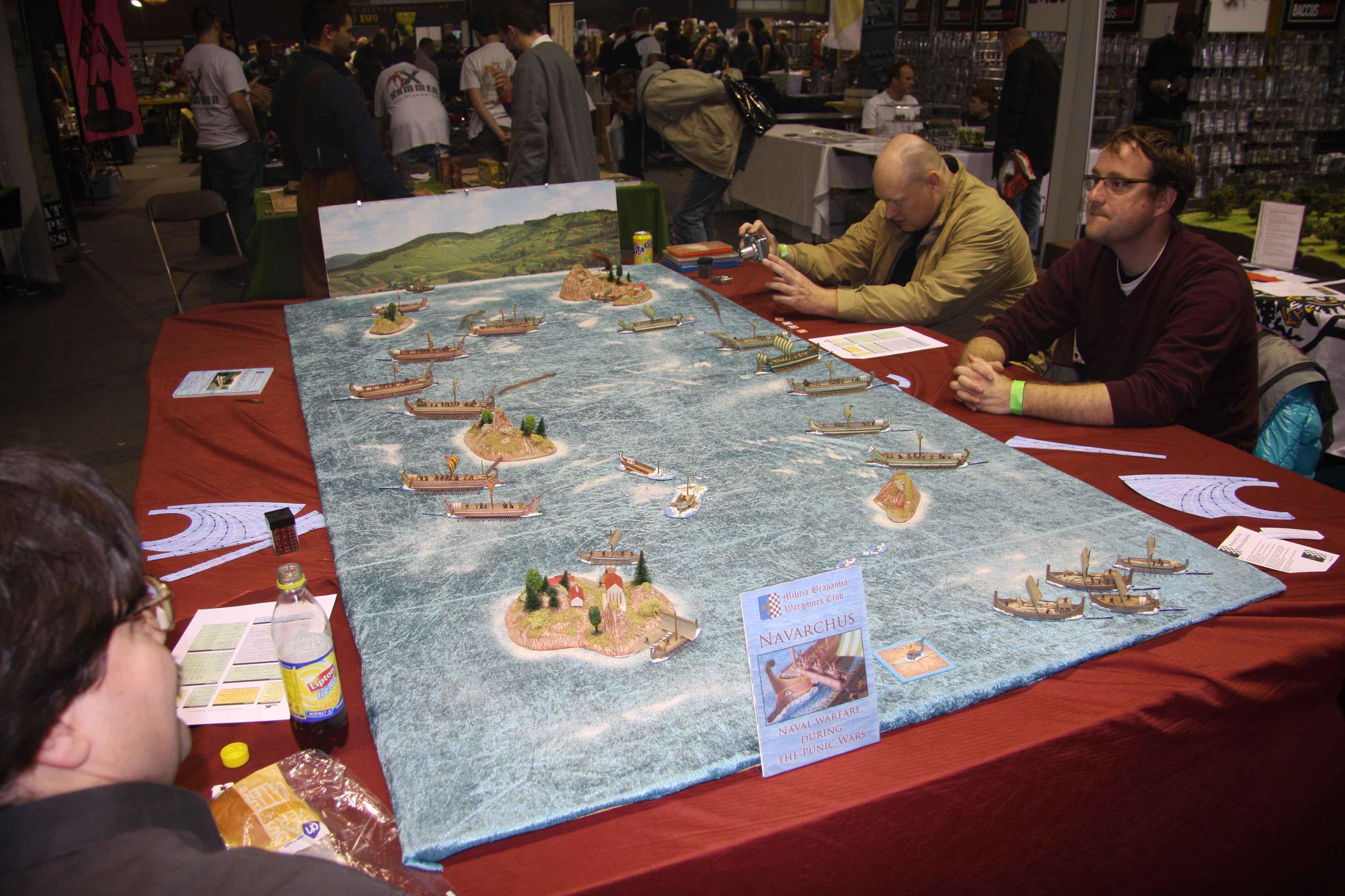Militia Brabantia Wargames Club - Punic Wars Naval