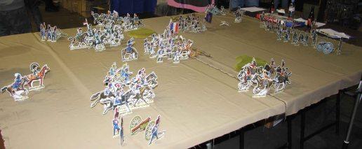 Napoleonic Paper Flats