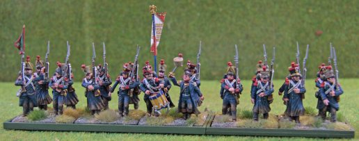 French Marine Infantry in their movement tray