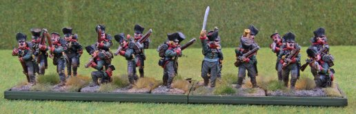 Prussian Jäger in movement tray