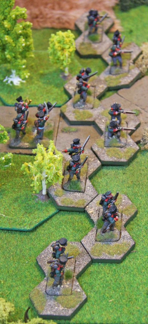 Prussian Jäger in their skirmisher sabots